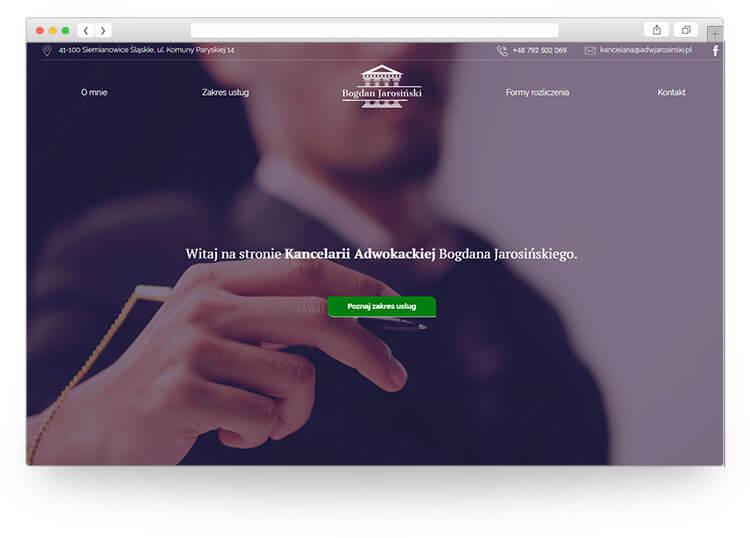 strona internetowa chrzanów
